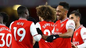 Arsenal: Aubameyang séduit par les performances de Nicolas Pépé
