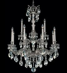 schonbek 5683 48a milano traditional 12 light antique silver clear spectra crystal undefined
