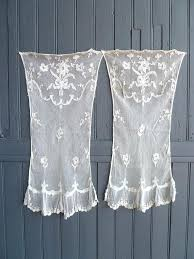 vintage lace curtains curtain panels unthinkable antique french decor linens and bedrooms home interior canada