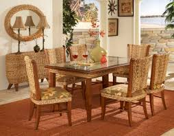 wicker sunroom furniture sets. Paradise Dining Room Sets : Caster Chair Set Tickle Imports American Wicker. Sunroom FurnitureDining Wicker Furniture