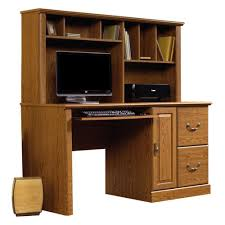 home office desk and hutch. Amazon.com - Sauder Orchard Hills Computer Desk With Hutch Carolina Oak Home Office And F