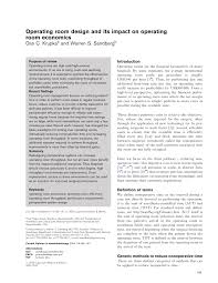 Operating Theatre Design Guidelines Pdf Operating Room Design And Its Impact On Operating Room