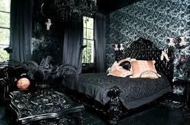 Stylish Gothic Bedroom