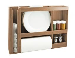 a seateak dish cup e towel rack is storing plates a paper