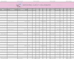 Printable Wedding Guest List Organizer 13 Best Photos Of Wedding Guest List Organizer Printable