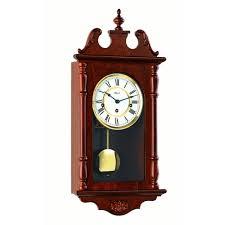hermle anne mechanical regulator wall clock walnut westminster chime