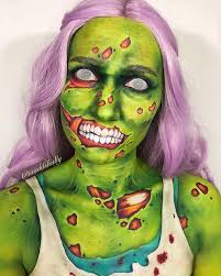 21 scary zombie makeup ideas for