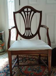 duncan phyfe dining room chairs. Duncan Phyfe 1940s 9 Piece Mahogany Dining Room Set 6 Shield Back New Chairs D