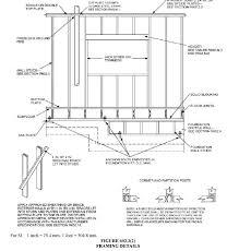 wall studs size framing studs length basement wall studs