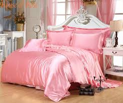 pink silk bedding luxury light pink silk bedding sets chinese duvet covers on tencel cotton queen