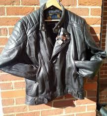 real badass jts leather vintage cafe racer leather biker motorcycle jacket 48 xl