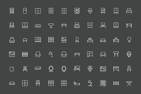 creative furniture icons set flat design. Creative Furniture Icons Set Flat Design. Contemporary On  Design