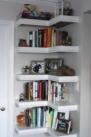 best  floating corner shelves ideas on pinterest  corner