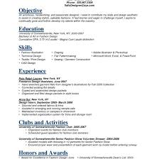 Fashion Industry Resume Fashion Resume Example Shalomhouseus 16