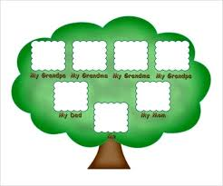 Making A Family Tree For Free Family Tree Picture Kids Template Free Sample Example Format