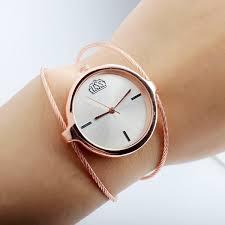 <b>New Fashion</b> Women Metal <b>Watches Simple</b> Steel Wire <b>Watch</b> ...