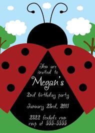 Ladybug Invitations Template Free Ladybug Birthday Invitation Templates Free Magdalene