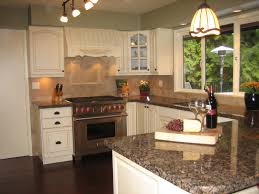 Granite With Cream Cabinets Mannequin Cream Benjamin Moore Oc 92 Is The Perfect Kitchen