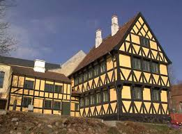 Historic half timbered house