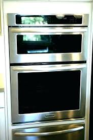 wall oven inch microwave combo