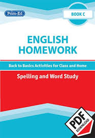 homework word english homework spelling and word study 2nd class ebook