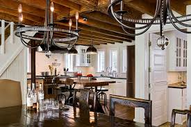 marvelous plug in chandelier method new york farmhouse kitchen inspiration with built in cabinets chandelier chic
