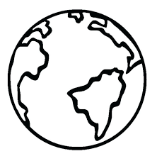 earth coloring page of the pages