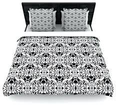 black and white duvet covers black and white duvet covers fullqueen mydeas illusion damask black white