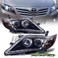 Awesome Great 2010 2011 Toyota Camry R8 Style LED Projcetor Black ...
