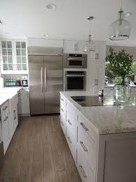 white shaker kitchen cabinets grey floor. Full Size Of Kitchen:impressive White Shaker Kitchen Cabinets Grey Floor Large Thumbnail S