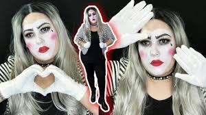 mime makeup tutorial costume