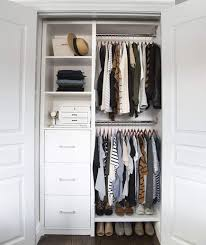 simple closet ideas. Simple Closet Hanging Solutions Clothes By Wood Small Closet Organization Ideas With  Simple Decor 12 For