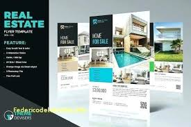 Real Estate Listing Flyer Template Free Minimalist Email Flyers