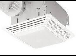 how to clean replace light broan model 678 exhaust fan
