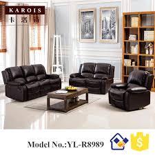 reclining sofa sets modern electric recliner sofa leather sofa set 3 2 1 seat sofa in