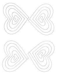 0117c2a463eb097bc10c86c95996ef6b spiral heart pop up card template paper fun pinterest heart on spanish postcard template