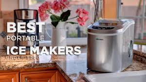 best portable home ice makers for under 200 in 2019