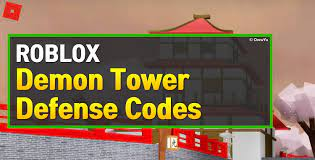 Active demon tower defense codes. Roblox Demon Tower Defense Codes May 2021 Owwya