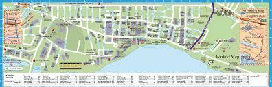 waikiki hotel map