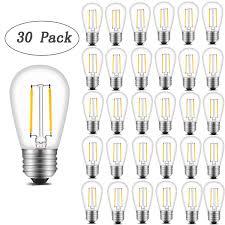 Ebay Light Bulbs Details About Innoccy Vintage S14 Led Light Bulbs 2w 200 Lumens 2700k Softwarm 30 30 Pack