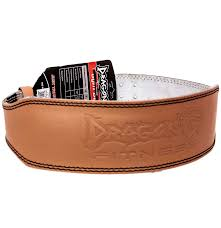 weight lifting belt 4 leather beltl br