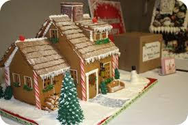 Ideas using gingerbread christmas home decorations Wonderful Gingerbread Gingerbread House 2009 Competition Sweetopia Ideas And Inspiration For Gingerbread Houses Sweetopia