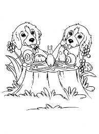 Download Thanksgiving Dog Coloring Page Printable Coloring Page