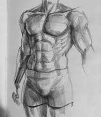 paint figurative fitness figure draw drawing desenho dessin desen art artist sanat painting eskiz sketch sketchbook muscle