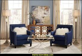 old hollywood style furniture. Hollywood Glam Living Rooms - Old Style Decorating Ideas Luxe Furniture