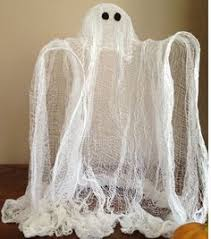 Cheesecloth Ghost. Halloween ...