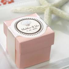 personalized favor boxes for weddings. personal handmade pink paper wedding favour box with your date \u0026 names of bride and groom personalized favor boxes for weddings