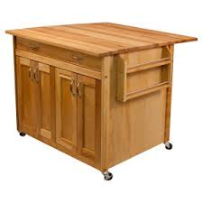 portable kitchen island. Catskill Craftsmen Deep Kitchen Island With Flat Panel Doors And Drop Leaf Portable T