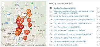 Bangkok Climate Chart Weather Bangkok May Set Heat Record Today Relief By