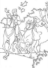 Anti Stress Kleurplaten Prinsessen Prinses Op Een Paard 12